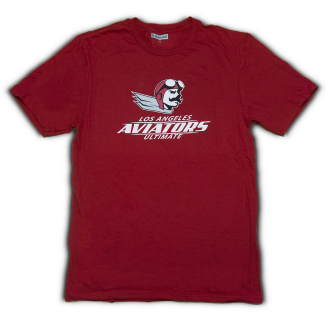 Aviator Mascot T-Shirt – Red