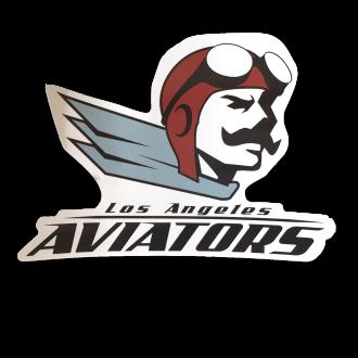 Aviator Mascot Sticker